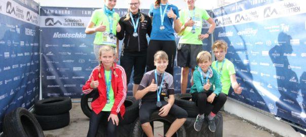 Die O-See Kids im Wettkampfmarathon Wochenende – Schiebock läuft extrem und Bautzen Crossduathlon