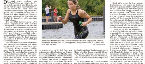 15°Swim'N'Run Görlitz & Triathlon