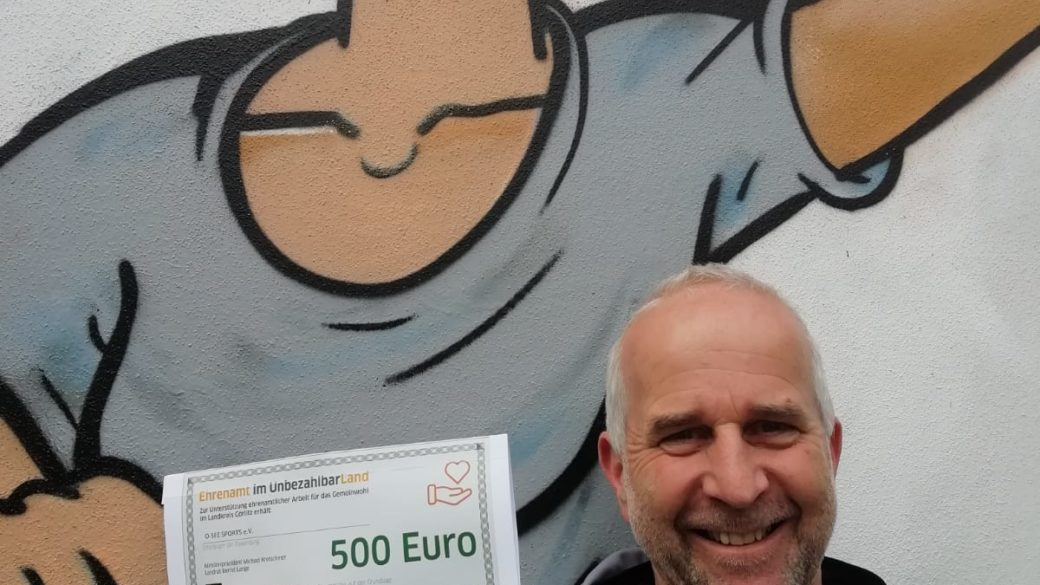 O-SEE Sports erhält 500 € Unterstützung